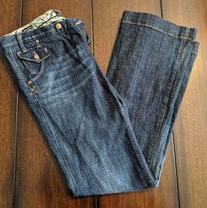 Vigoss flare medium wash jeans